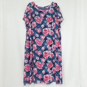 Woman Within Floral Dress - NWOT